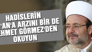 Photo of Hadislerin Kur'an'a Arzı – Prof. Dr. Mehmet Görmez