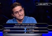 Photo of Kim Milyoner Olmak İster'de 1 milyonluk soruya cevap verilemedi!