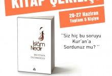 Photo of KİTAP ÇEKİLİŞİ (20-27 Haziran – Toplam 5 Kişiye)